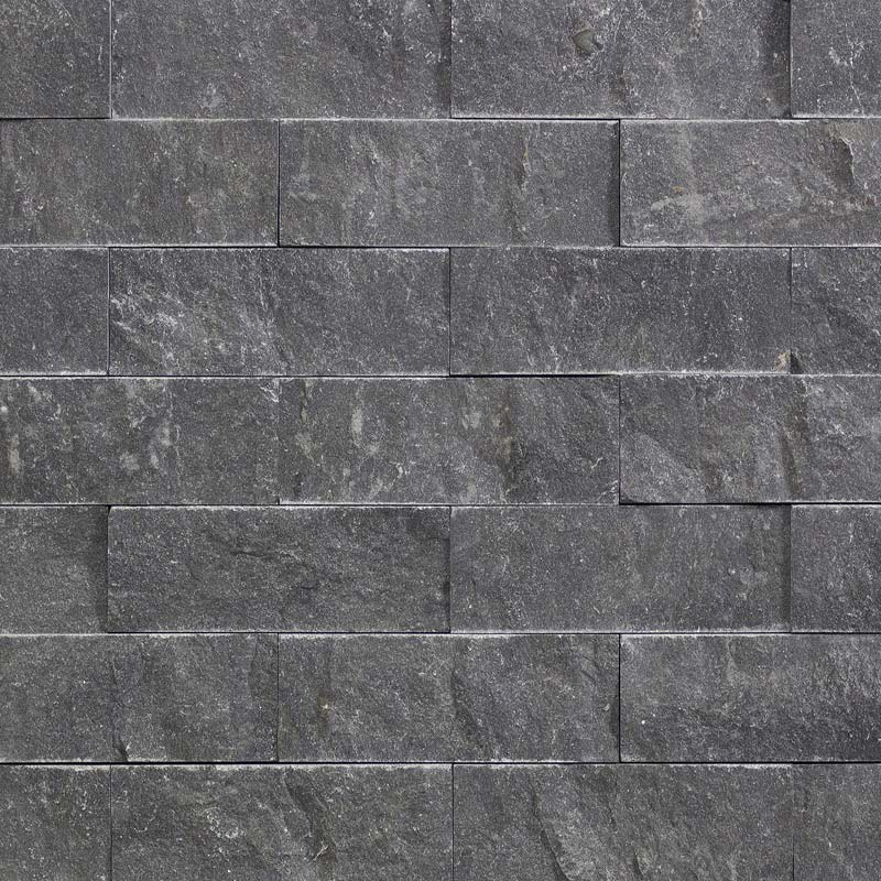 Charcoal Blustone 3D Panels by ErthCoverings