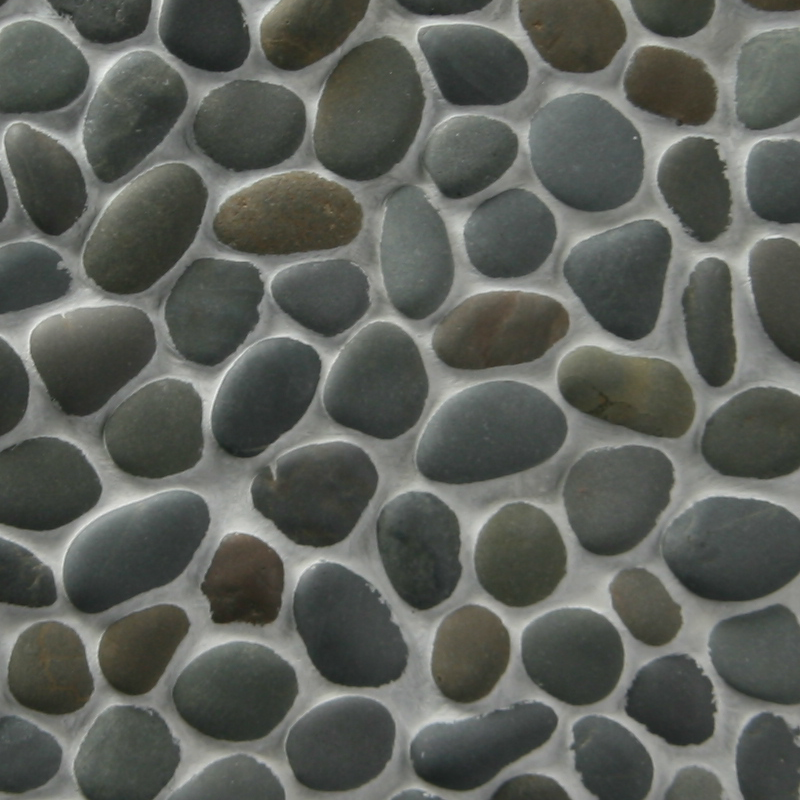 Charcoal Charcoal Pebble by ErthCoverings