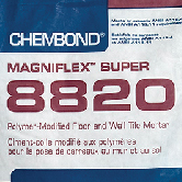 Magniflex Super 8820 Mortar Installation Products by ErthCoverings