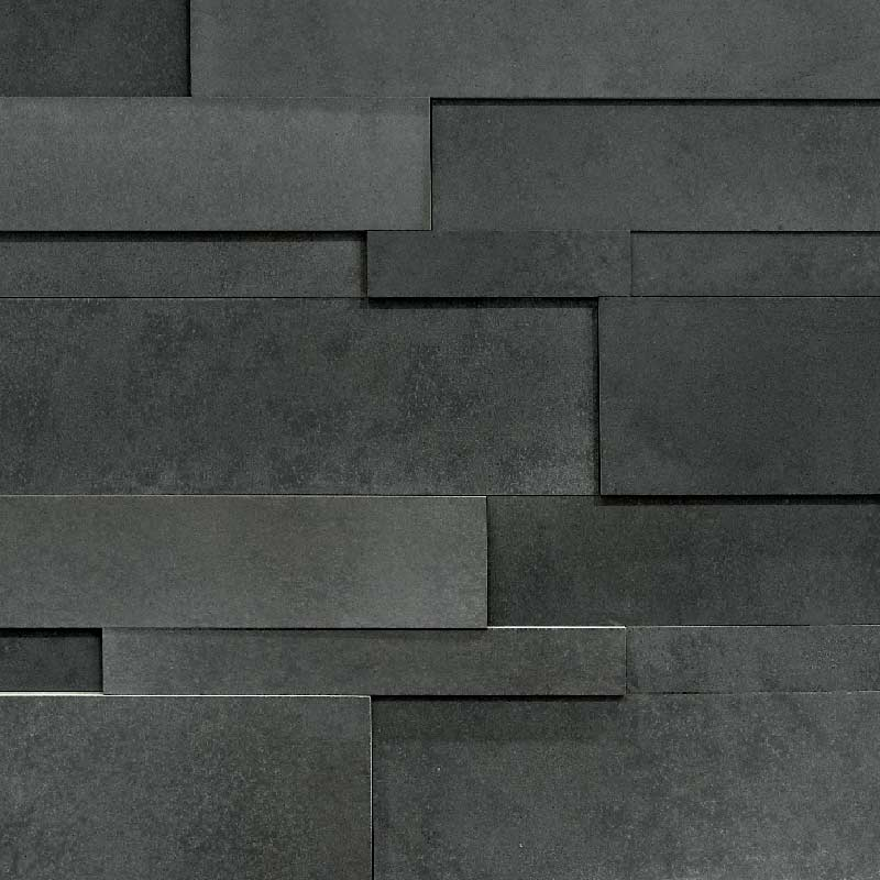 Charcoal Lavastone Strips - Large by ErthCoverings