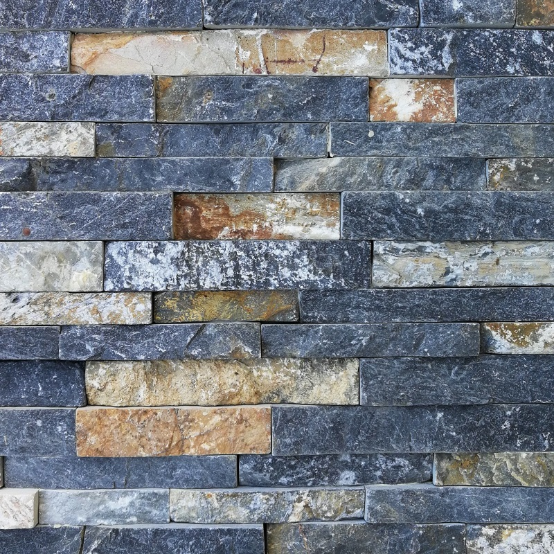 Charcoal Smokey Mountain Ledgestone Panels by ErthCoverings