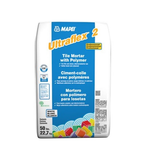 Mapei Ultraflex 2 White Mortar