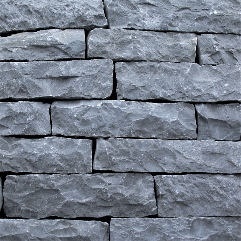 Charcoal Mount Rundle Mountain Ledgestone by ErthCoverings