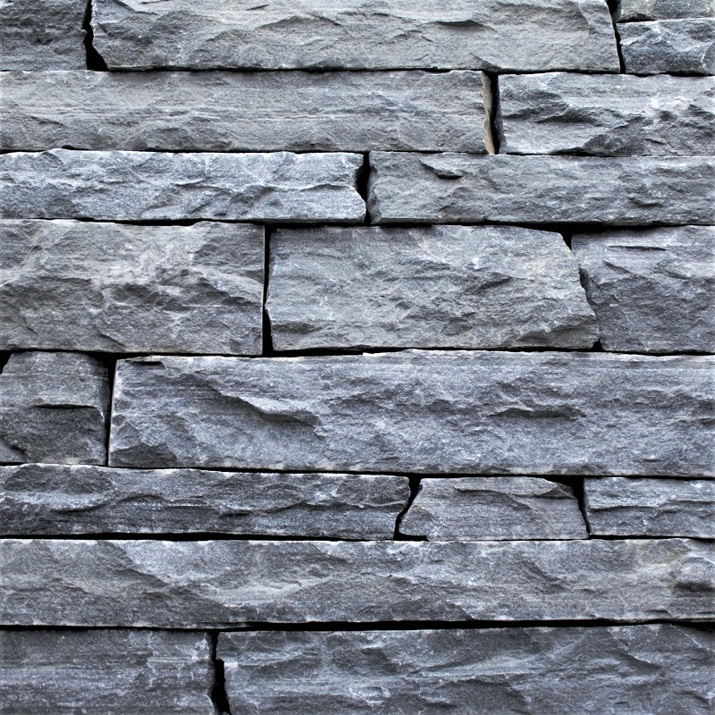 Charcoal West Ridge Mountain Ledgestone by ErthCoverings