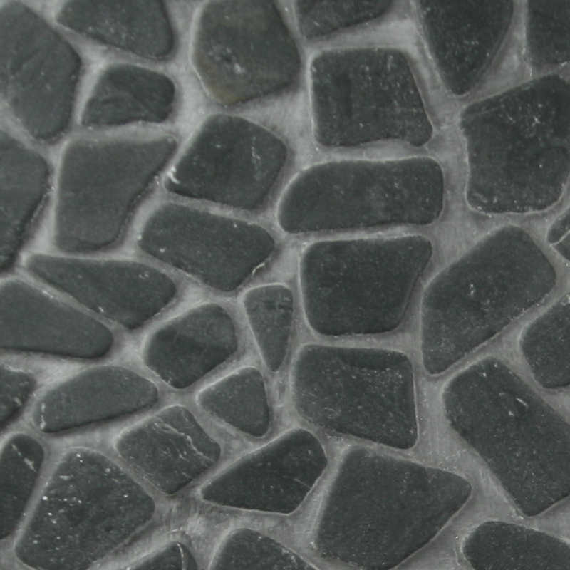 Charcoal Blustone Pebble by ErthCoverings