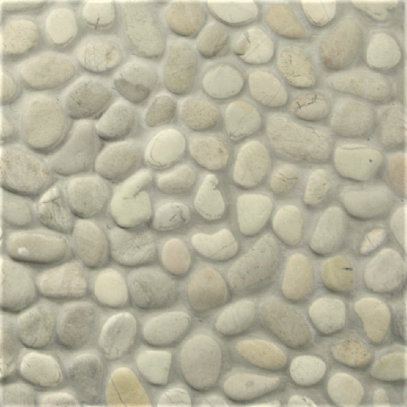 Beige Ivory Blend  Pebble by ErthCoverings