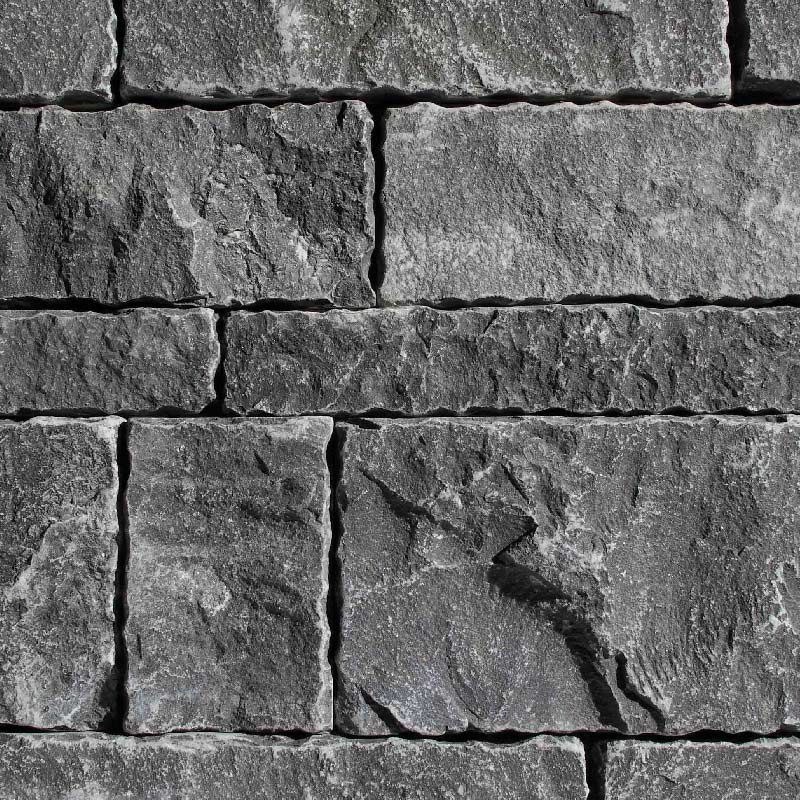 Charcoal Blustone Splitface by ErthCoverings