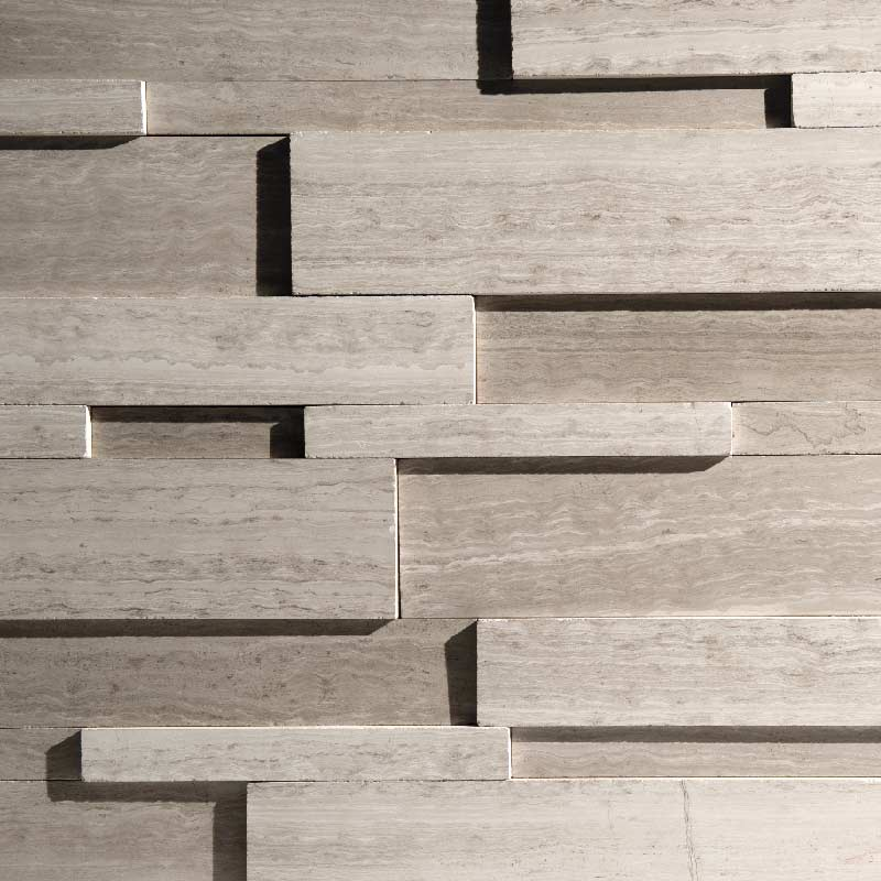 Gray Silver Fox Strips - Regular by ErthCoverings