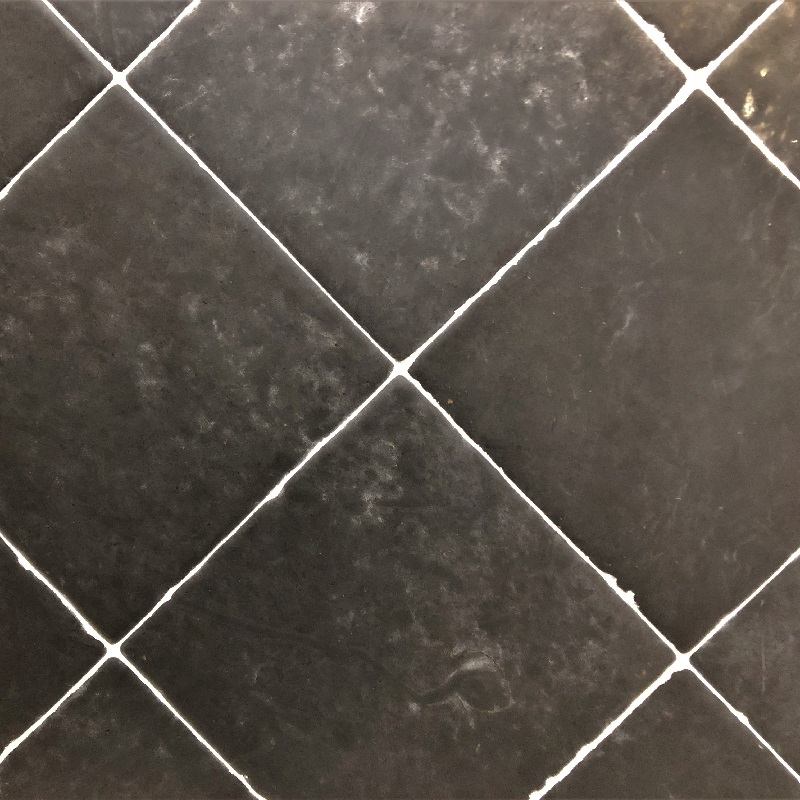 Black Nero Vanessa Tile - Timeworn by ErthCoverings